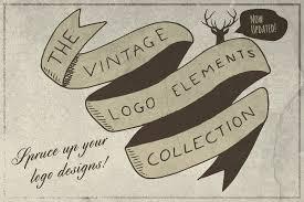 Unique Vintage Retro Old Logo Icons Library