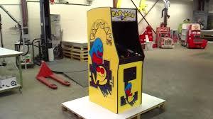 Cardboard Pac Man Arcade Cabinet