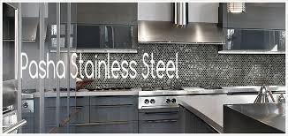 pasha stainless steel tile collection