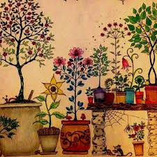 Secret Garden An Inky Treasure Hunt And Coloring Book Adult Children Relax Graffiti Painting Color Pencil Diary SK371 In Books From Office