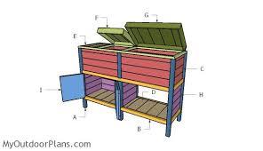 double wood cooler part 2 myoutdoorplans free woodworking
