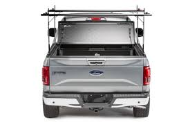 F150 Bed Cover by 2015 2018 Ford F 150 Hard Folding Tonneau Cover Rack Combo