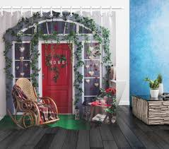 US $8.48 35% OFF|Porch With Red Door Shower Curtain With Wicker Rocking  Chair And Mat Set Bathroom Waterproof Polyester Fabric For Bathtub Decor-in  ... Awesome 3 Piece Garden Set Fniture Rattan Outdoor Chair Cloud Mountain Wicker Rocking Black Rock Bistro Comfortable Modern Easy Assembly Patio Lawn 2piece Tiana Resin Rocker Chairs Green Cushions 31556420 Amaya Swivel With Cushion Of 2 By Christopher Knight Home Wicker Rocker Chair Florals Cushionsset Polywood Presidential Woven For Ideas Amazoncom Alcott Hill French Roast Sets Sale Nursery Red Eaging Weather Interiors Maui Camelback Steel 1