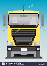 100 Fleetwood Trucking Front View Of Cargo Truck Vector Illustration Stock Vector Art