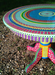 Hand Painted Furniture Custom Colorful Made To Order