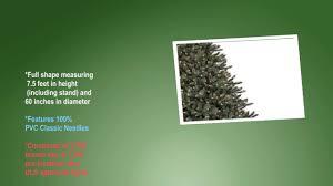 Balsam Hill Premium Artificial Christmas Trees by Balsam Hill Classic Blue Spruce Artificial Christmas Tree 7 5