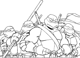 Epic Ninja Turtles Coloring Pages 89 In For Adults With