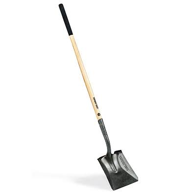 Ames Companies Long-Handle Square Point Scooping Shovel