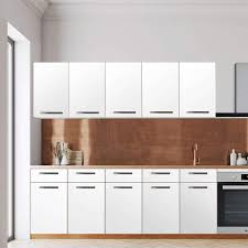 klebefolie für die küche wandschrank 200 cm breite weiß
