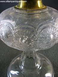 Antique Kerosene Lamps Ebay by Swirled Rosettes By Riverside Oil Lamp Antiques