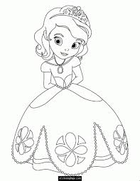 Princess Coloring Pages Free Printable 17 Disney Kids Colouring In