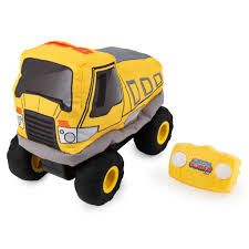 100 Kids Dump Truck Plush Power RC Remote Control With Soft Body And
