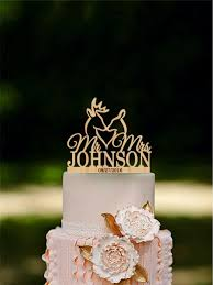 Deer Wedding Cake Topper The Hunt Is Over Last Name Mr Mrs Rustic Hunting