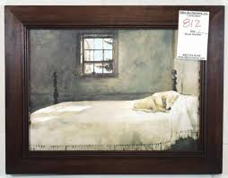 Master Bedroom Artist Andrew Wyeth