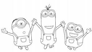 16 Minion Birthday Coloring Pages 4392 Via Simplyfrugalca