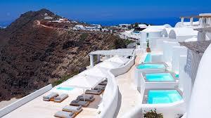 hotel avec bain a remous dans la chambre rocabella vue de notre chambre picture of rocabella santorini