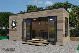 100 House Built From Shipping Containers Catering Hospitality Cleveland