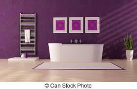 lila luxustoilette lila modernes badezimmer mit einer