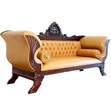 canap style colonial canapé style colonial en acajou massif houdan meuble de style