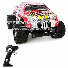 Jual BARU NQD RC Bigfoot Monster Truck Mini Beast Skala 1/16 ...