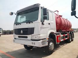 China Sinotruck Suction-Type Sewer Scavenger 6cbm-16cbm Tanker ...