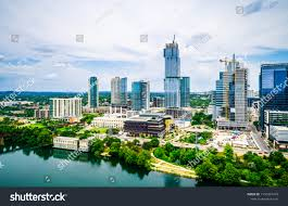 100 Austin City View Texas Aerial Drone High Stock Photo Edit Now
