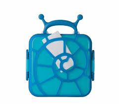 Bento Snail Blue Lunch Box