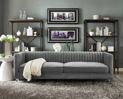 Wayfair Leather Sleeper Sofa by Furniture Best Quality Grey Velvet Sofa For Your Living Room