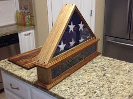 Memorial Flag Display Case