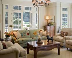 Lighting For Sloped Ceilings by Living Room French Country Cottage Decor Sloped Ceiling