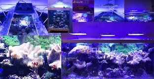 eclairage led pour aquarium eau de mer module z150 eclairage led pour aquariums récifaux osram
