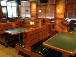Country Rustic Restaurant Booth Furniture Seats 150 W Table Tops Benches