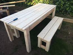 Pallet Patio Table Plans by Diy Pallet Farmhouse Table U2013 Patio Table Pallet Furniture Diy