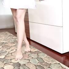 details zu badematte badvorleger badteppich steine bunt kieselsteine 130cm antirutsch