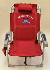Tommy Bahama Deluxe Beach Chair With Footrest by Tommy Bahama Oversized Aluminum Beach Chair With Footrest Blue