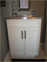 Stainless Steel Utility Sink Canada by Laundry Cabinet Shining Home Design