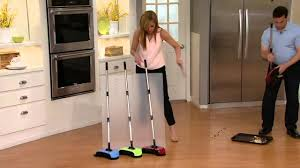 Electric Broom For Hardwood Floors by Easyedge Lightweight Hard Floor Sweeper On Qvc Youtube