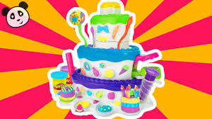 play doh knete kuchen bäckerei tortenzauber pandido tv
