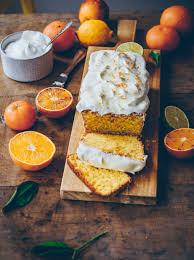 orangen mandelkuchen saftiger einfacher rührkuchen