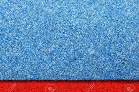 Background Of Blue Carpet Pattern Texture Flooring Stock Photo