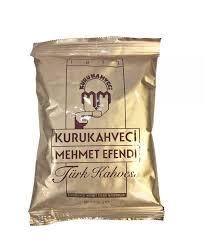 MEHMET EFFENDI Turkish Coffee Turk Kahvesi Grounded 100gr Carr Group