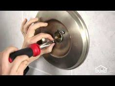 Faucet Handle Puller Youtube by Shower Faucet Cartridge Removal And Install For A Single Handle