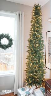 Slimline Christmas Tree by The 25 Best Slim Christmas Tree Ideas On Pinterest Pencil