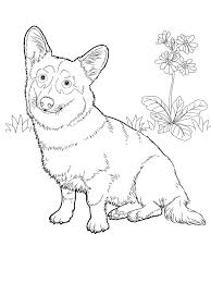 These Free Dog Coloring Pages Make For A Fun Quiet Time Project Both Children And Adults Is Proven Stress Reliever