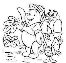 Disney Winnie The Pooh Coloring Pages Also Like Many Kids May Be You Have A Which Want To This Characters