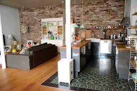 projekt loftausbau wie eine offene küche perfekt ins