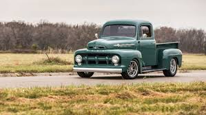 100 Ford F1 Truck 1952 FORD PICKUP Truck Green Wallpaper 1664x936 1036764