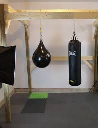 the home made boxing gym guide commando boxing how to box