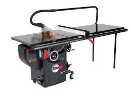 Sawstop Cabinet Saw Outfeed Table by Professional Cabinet Saw Vs Grizzly Sawstop