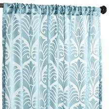 Pier One Curtain Rods by Peacock Burnout Curtain Pier 1 Imports Home Decor Pinterest